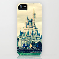 Magic Kingdom Castle iPhone & iPod Case by Elizabeth Baker