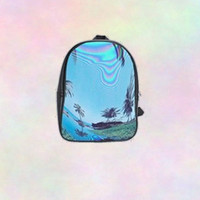 Palm Tree Backpack - Tumblr Cool Kawaii Love Online Amazing Cyber