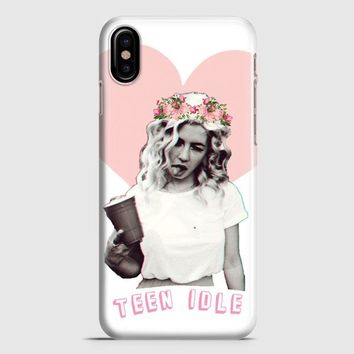 Marina And The Diamonds Collage iPhone X Case