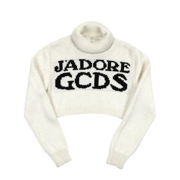 """J'Adore GCDS"" Knitted Turtleneck"