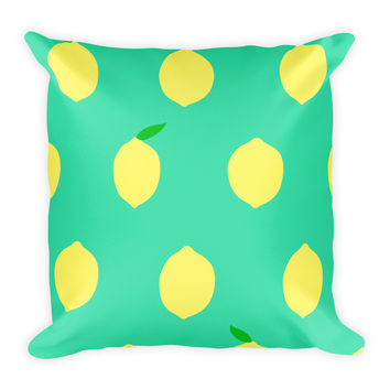 Lemons to Lemonade Pillow
