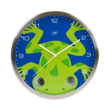 KARLSSON Wall Clock - Peekaboo Frog
