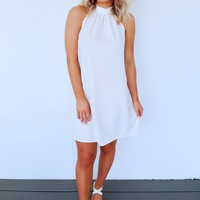 Always Charming Dress: White