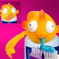 TOOTHPASTE BUBBLES (FISH)