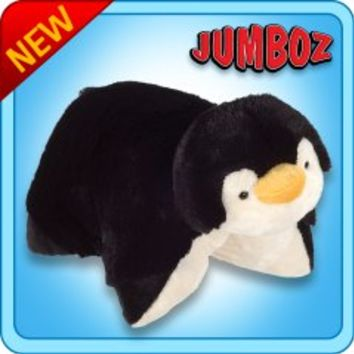 Jumboz Plush :: Jumboz Penguin - My Pillow Pets® | The Official Home of Pillow Pets®