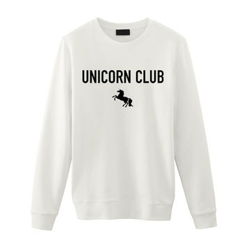 Unicorn / Club 99 Unicorn / Grunge Hipster Punk Goth Indie / Unisex Sweater / Tumblr Inspired