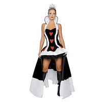 Sexy Alice in Wonderland Queen of Hearts Costume extravagant queen costumes Women Halloween Costumes for women