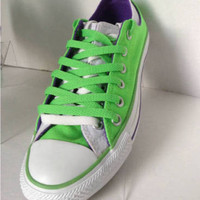 NEW CONVERSE Woman's All-Star Ox Lo Double Tongue Sneakers (Size 7)