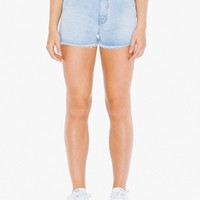 Vintage Denim Fringe Short | American Apparel