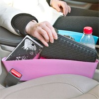 Car Seat Seam Storage Pouch