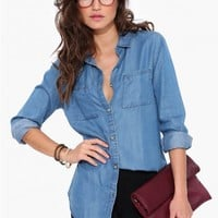 Denim Chambray Buttondown