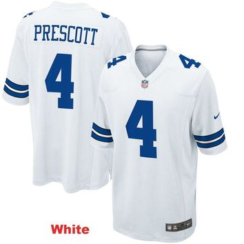 Men's Dallas Cowboys Dak Prescott Game Jersey
