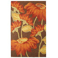 Pier 1 Imports - Product Detail - Large Sunflower Rug