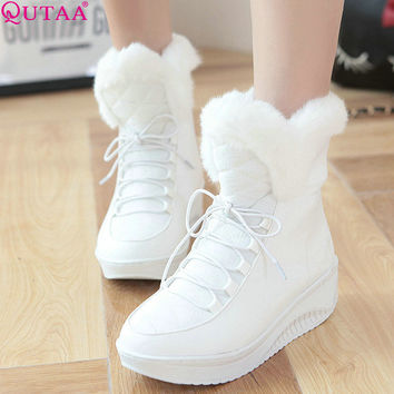 Best Wedge Ankle Boots Products on Wanelo