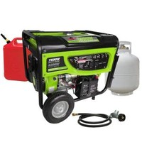 Smarter Tools, GP7500DEB, 6,200-Watt Propane (LPG) or Gas Powered Generator, STGP-7500DEB at The Home Depot - Mobile