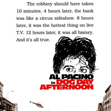 Dog Day Afternoon 11x17 Movie Poster (1975)