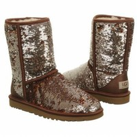 Amazon.com: UGG Australia Womens Classic Short Sparkles Boot: Shoes