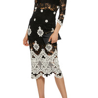 Helina Lace Embroidered Dress | Moda Operandi