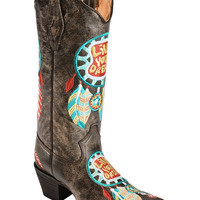 Tanner Mark Dream Catcher Live Your Dream Cowgirl Boots - Pointed Toe - Sheplers