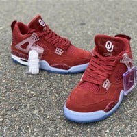 Air Jordan 4 The Oklahoma Sooners PE