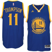 Klay Thompson Golden State Warriors adidas 2014-15 New Swingman Road Jersey – Royal Blue