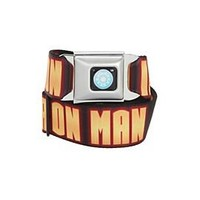 Marvel Universe Iron Man Logo Seat Belt Belt - 10005150