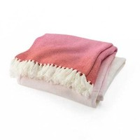 Palermo Watermelon Ombre Throw