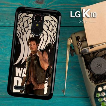 The Walking Dead Daryl Dixon Wings Z2791 LG K10 2017 / LG K20 Plus / LG Harmony Case