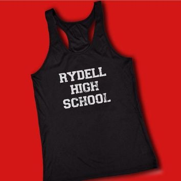 Rydell High School Grease Musical Movie Women'S Tank Top