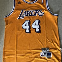 Jerry West Los Angeles Lakers Hardwood Classics Men Basketball Jerseys - Best Deal Online