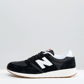New Balance 70s Running 420 Trainers in Black MRL420SD at asos.com
