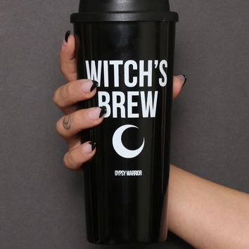 Witch's Brew Travel Mug at Gypsy Warrior