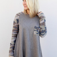 Wild About You Camo Tee