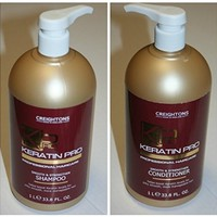 Creightons KERATIN PRO Shampoo and Conditioner Duo (33.8 fl oz each)