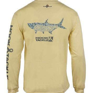 Men's Tarponesque L/S UV Fishing T-Shirt
