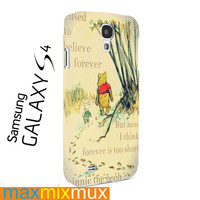 Vintage Winnie The Pooh Samsung Galaxy Series Full Wrap Cases