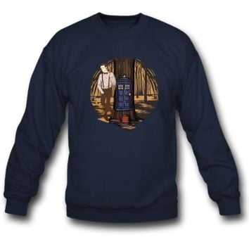 doctor who SWEATSHIRT CREWNECKS