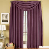 Purple Soho Scarf Window Treatment