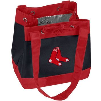 PEAPGQ9 Boston Red Sox - Logo Drawstring Lunch Bag