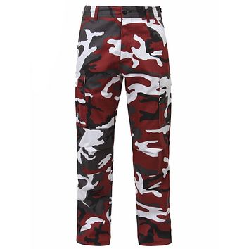Rothco Color Red Camo Tactical BDU Pants