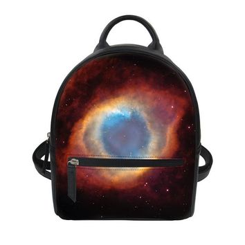 Toddler Backpack class FORUDESIGNS Little Kids Children's School Bags Backpacks 3D Galaxy Small Daily Bag Toddler Baby Girls School for 2-4 Year old AT_50_3