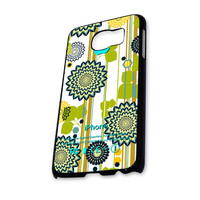 Medallion Flowers Stripes Samsung Galaxy S6 Case