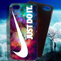 Just Do It Galaxy iP5 iPhone 4 4S iPhone 5 5S 5C and Samsung Galaxy S3 S4 S5 Case
