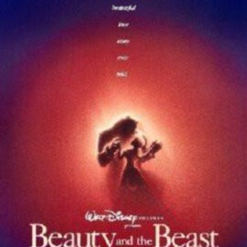 Beauty And The Beast Movie Poster Standup 4inx6in
