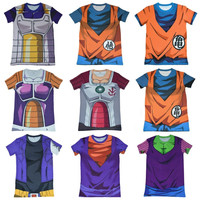 Dragon Ball Z Super Compression T-Shirts