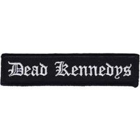 Dead Kennedys Men's Old English Logo Embroidered Patch Black
