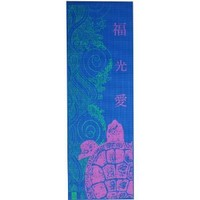 Technicolor Turtle Printed Yoga Mat