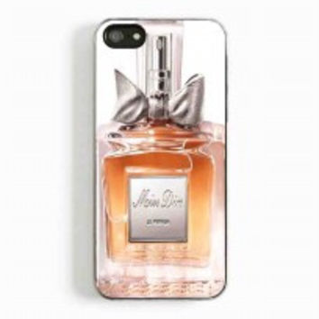miss dior perfume for iphone 5 and 5c case
