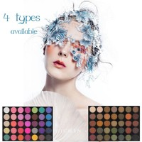Makeup 35 Colors Metallic Eyeshadow Palette Glitter Luminous Shimmer Matte Eye Shadow Make Up naked Palette Cosmetics