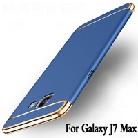 For samsung galaxy j7 max case luxury funda protection mobile phone shell for samsung galaxy on max cover 3 in 1 hard j7max case